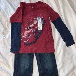 Boys long sleeve long pants bundle